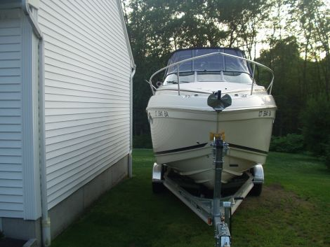 Used Power boats For Sale in Connecticut by owner   2004 27 foot rinker festiva vee