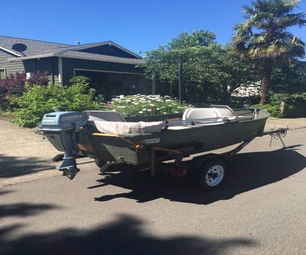 Used Klamath Boats For Sale by owner | 1973 12 foot Klamath DX