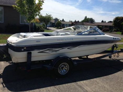 Used Bluewater Boats For Sale in Washington by owner   2004 18 foot Bluewater  Breeze
