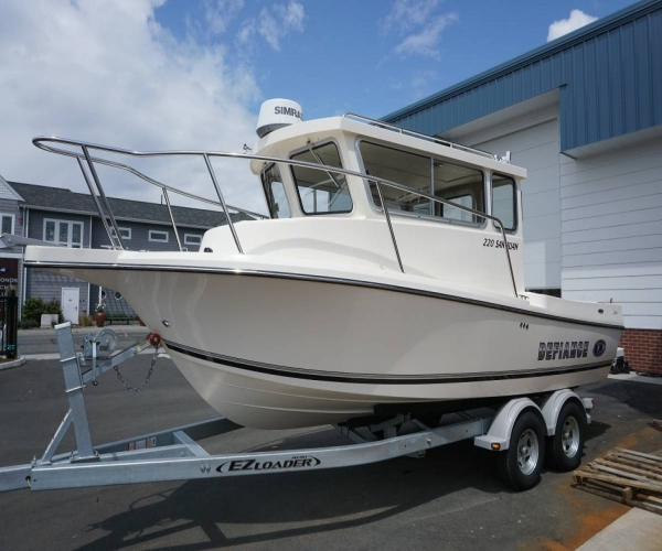 Used Defiance Boats For Sale in Washington by owner   2015 Defiance SAN JUAN 220