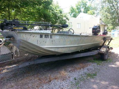 New Monark Boats For Sale by owner | 1977 18 foot Monark Duck boat