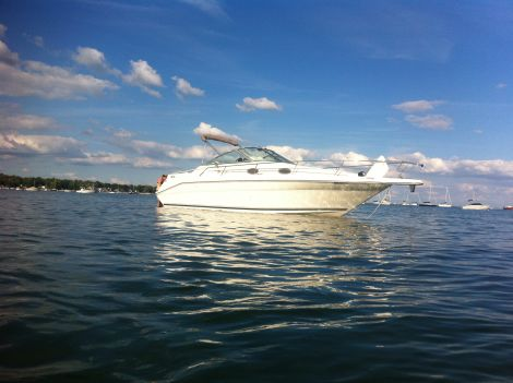 New Boats For Sale in Ontario by owner | 1998 Sea Ray Sundancer 270 SE