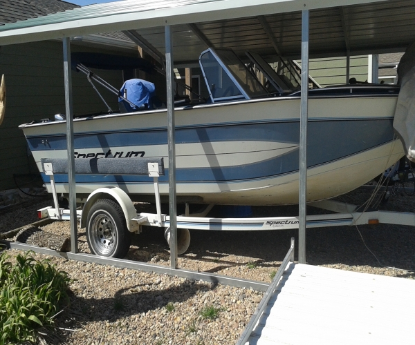 Used Blue Fin Boats For Sale by owner | 1993 19 foot Blue Fin spectrum
