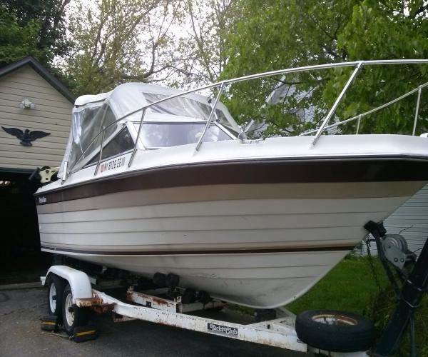 Used Penn yan Boats For Sale by owner   1984 21 foot Penn Yan Cuddy