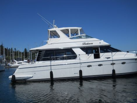 Used Carver Boats For Sale by owner | 2000 CARVER 530 pilot house