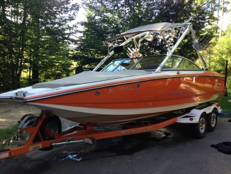 Used Power boats For Sale in New Hampshire by owner   2007 24 foot mastercraft x star
