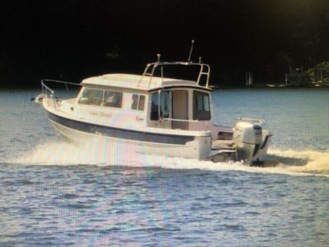 Used Small boats For Sale by owner | 2006 C-Dory 25 Foot Cruiser