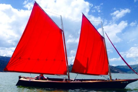 Used Small boats For Sale by owner | 2001 24 foot Home Built Bolger Lite Schooner