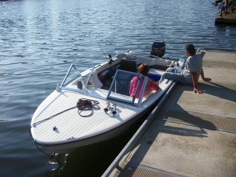 Used Power boats For Sale in Oregon by owner | 1965 16 foot Glaspar runabout