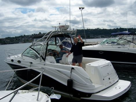 Used Sea Ray Boats For Sale in Washington by owner | 2007 30 foot Sea Ray Amberjack