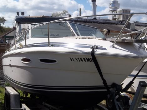 Used Sea Ray Small boats For Sale in Florida by owner   1987 26 foot sea ray mercruiser