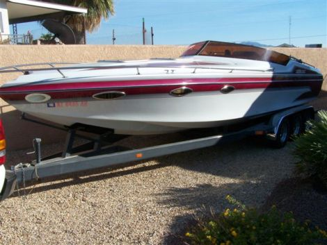 Used Sleekcraft Boats For Sale by owner   1990 28 foot SLEEKCRAFT ENFORCER