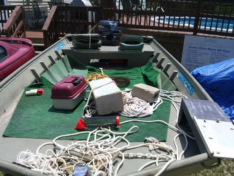 Used Boats For Sale in Columbia, South Carolina by owner   1992 14 foot mirror craft  fishing boat