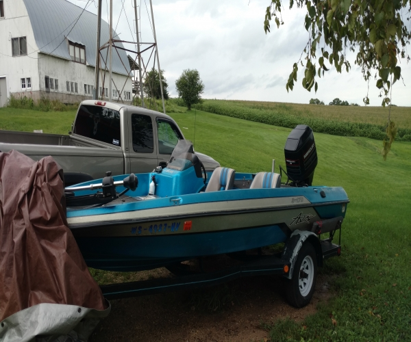 Used Astro Boats For Sale by owner | 1995 17 foot Astro Vhull