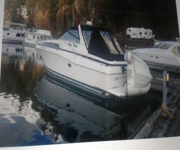 Used Power boats For Sale in British Columbia by owner | 1996 35 foot Bayliner Avante