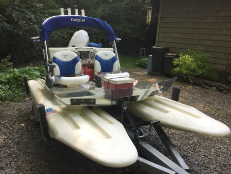 Used CraigCat Boats For Sale by owner | 2016 CraigCat E2 Elite