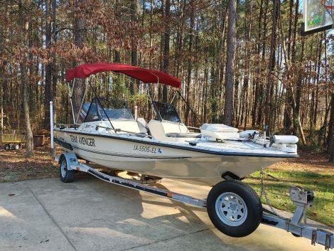 Used Fishing boats For Sale by owner | 1993 Avenger Bay Runner 210V