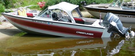 Used Power boats For Sale in Duluth, Minnesota by owner | 1988 Crestliner Mirage 160