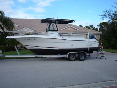 2000 25 foot Robalo Center Console Fishing boat for Sale ...