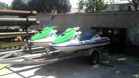 Used PWCs For Sale in California by owner | 1995 8 foot bombadier gtx