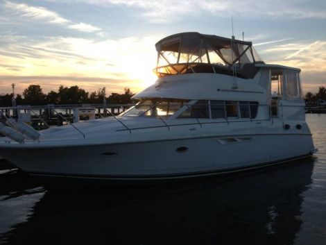 Used Boats For Sale in Michigan by owner | 2000 Silverton 422