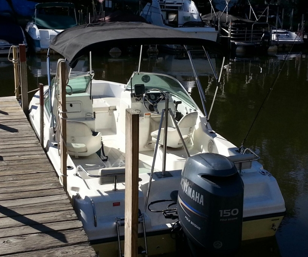 Used Power boats For Sale in New Hampshire by owner   2007 19 foot Century Mustang