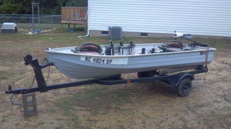 Used Mirro Craft jon boat no motor Boats For Sale by owner   1900 12 foot mirro craft jon boat no motor
