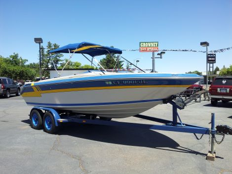 Used Sea Ray sorrento  Boats For Sale in California by owner | 1986 22 foot sea ray sorrento