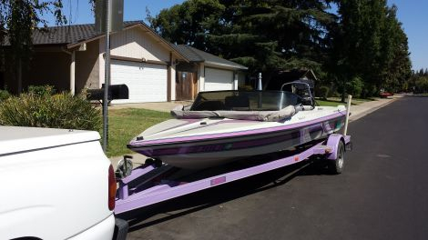 Used MALIBU Boats For Sale in Vallejo, California by owner | 1993 21 foot Malibu Flight Craft Barefooter