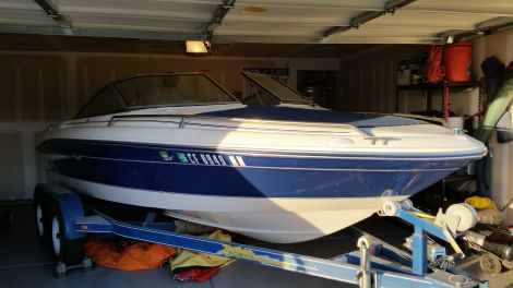 Used Sea Ray Boats For Sale in Bakersfield, California by owner   1995 searay 180 signiture series