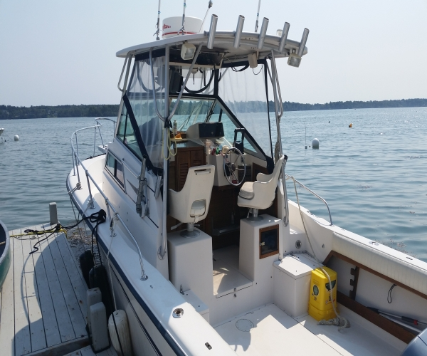 Used Boats For Sale in Maine by owner | 1988 Grady White Sailfish 255