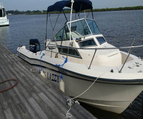 Used Grady-White Boats For Sale in Georgia by owner | 1992 226 foot Grady-White Grady Seafarer