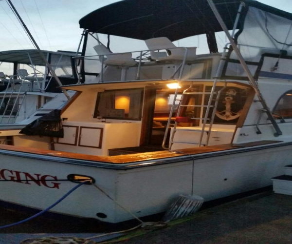Used Motoryachts For Sale in North Carolina by owner | 1978 33 foot Pacemaker Sportfisher