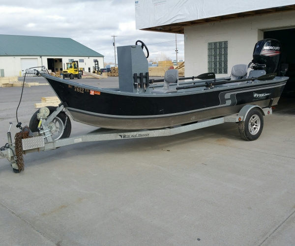 Used Fishing boats For Sale in Michigan by owner   2015 18 foot HYDE  DRIFT POWER DRIFTER