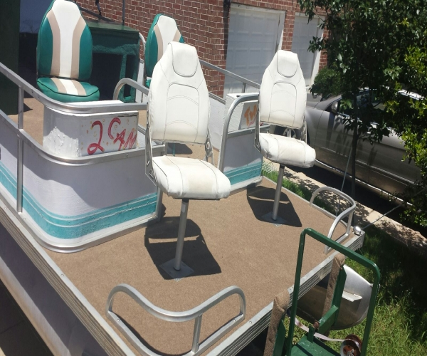 Used Beachcomber Boats For Sale by owner | 1993 21 foot Beachcomber Pontoon