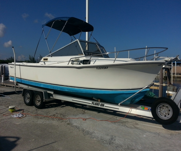 Used Shamrock Boats For Sale by owner | 1989 26 foot Shamrock Predator