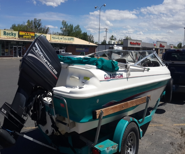 Used Glastron ski  Boats For Sale in Wyoming by owner | 1997 18 foot Glastron ski &fish