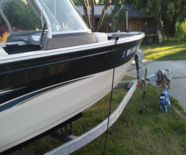 Used Crestliner Boats For Sale in Washington by owner | 2008 Crestliner 1800 SUPERHAWK