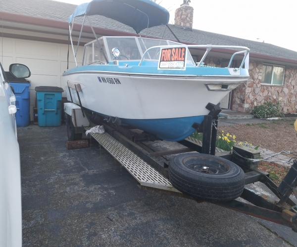 Used Other V hull Boats For Sale in Washington by owner | 1962 17 foot Other V hull