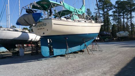 Used Sailboats For Sale by owner | 1988 Island Packet 38