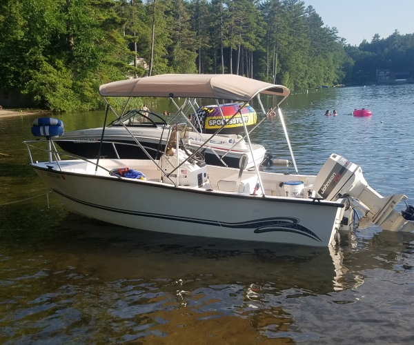 Used Ski Boats For Sale in Massachusetts by owner | 2001 Palm Beach whitecap 181