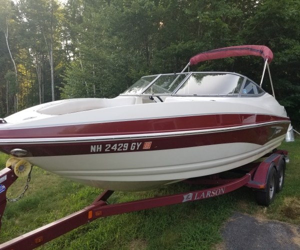 Used Power boats For Sale in New Hampshire by owner   2012 Larson SENZA 206