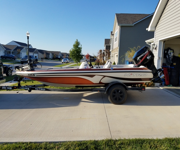 Used Boats For Sale in Indiana by owner | 2007 NITRO 591