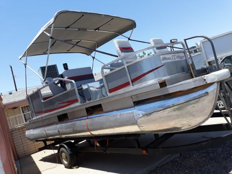 Used Power boats For Sale in El Paso, Texas by owner | 1987 20 foot Sun Tracker Bass buggy