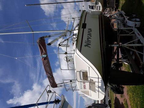Used Power boats For Sale by owner | 1990 Hunter Hungo 252
