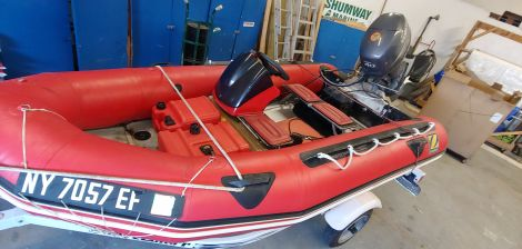 Used Boats For Sale in New York by owner | 2002 Zodiac Mk2C Futura