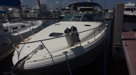 Used Power boats For Sale in New Hampshire by owner   2005 38 foot Sea Ray Sundancer