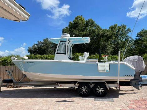 Used Power boats For Sale in Tampa, Florida by owner | 2017 SeaHunt GF25