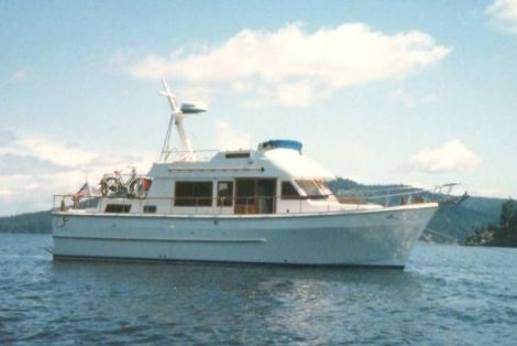 Used CHB Boats For Sale in Portland, Oregon by owner | 1984 41 foot CHB aft cabin
