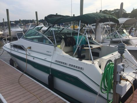 Used Power boats For Sale in Rhode Island by owner | 1991 Sea Ray 220DA